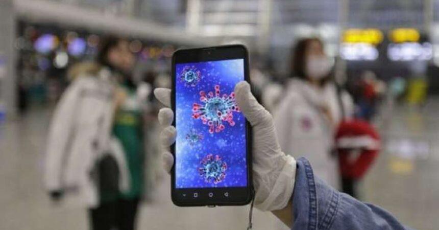 Έρευνα έδειξε πώς τα κινητά σχετίζονται με τον ρυθμό μεταβολής των κρουσμάτων κορωνοϊού